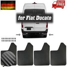 4x  Spritzlappen für Fiat Ducato 244 250 290 Schmutzfänger Vorne & Hinten