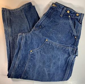 Vintage Carhartt Double Knee Pants 36x30 Denim Logger Faded Work Jeans