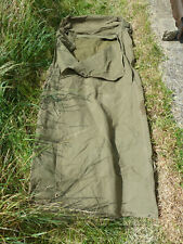 More details for post ww2 1953 korea british army officers canvas sleeping bag swag bag super con