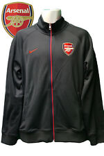 Vintage Nike Club de Fútbol Arsenal Chaqueta de Chándal Gris Pequeño