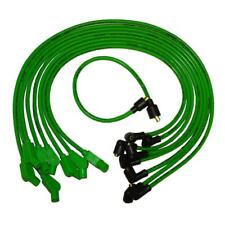 Taylor Spark Plug Wire Set 74503; Spiro Pro 8mm Lime Green for Chevy, Jeep V8