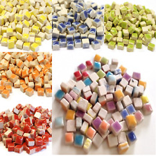 5mm Micro Glazed Ceramic Mosaic Tiles for arts and crafts - 25g Various Colours