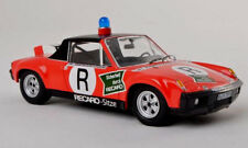 wonderful German modelcar PORSCHE 914/6 ONS 1973 NORISRING - red  - 1/43