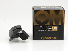 OLYMPUS OM ELECTRONIC FLASH TTL AUTO CONNECT.TYPE 3 NUOVO/NEW RARO