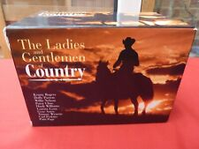 THE LADIES AND GENTLEMEN OF COUNTRY 20 CD BOX SET