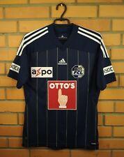 Luzern soccer jersey SMALL 2011 2012 home shirt U37439 soccer football Adidas