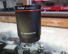 Vivitar SERIES 2x Teleconverter Lens (T Mount)