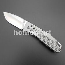 Sanrenmu 7063AUC-LK 7063 Gray Folding Knife Upgrade LB 763 for Camping Outdoors