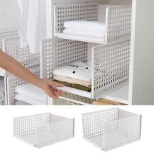 Multi Functional Storage Rack Layered Separator Wardrobe Interlayer Basket