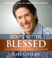 Good, Better, Blessed by Joel Osteen Audiobook CD Pastor Live Lakewood Church
