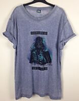 MENS STAR WARS DARTH VADER DARK SIDE TSHIRT SHIRT TOP URBAN GRUNGE UK XL BNWT