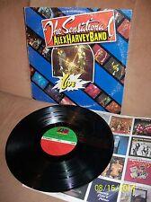 "THE SENSATIONAL ALEX HARVEY BAND ""Live"" 1975 Atlantic LP SD 18148 EXC- w/sleeve"