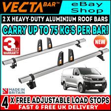 Peugeot Expert Roof Rack Bars x2 Vecta Bars To Fit 2016-2020 For L2-STANDARD Van