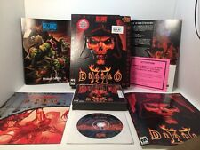 Rare! Diablo II V1.0 With SOUNDTRACK CD - Super Complete! Limited Release!