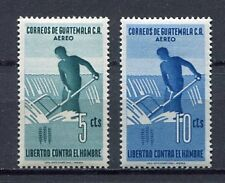 36312) GUATEMALA 1963 MNH** FAO Fighting agaist hunger 2v