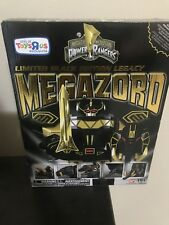 Bandai SDCC 2015 Morphin Power Rangers Megazord Limited Black Edition Legacy...