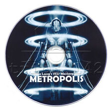 Metropolis (1927) Sci-Fi Movie/Film on DVD (Fritz Lang) With English Subtitles
