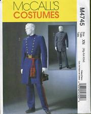 PATTERN 2sew Civil War Officer Uniform Sz XL-XXXL McCalls 4745 Union Confederate