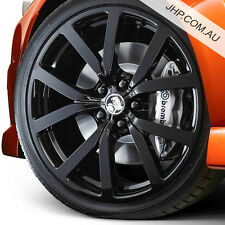 "20"" x 8.5 GENUINE HSV-i HF-20 BLACK RIMS HOLDEN COMMODORE VE VF SS SSV REDLINE"