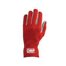 OMP NEW RALLY Red Racing Gloves - Genuine - M