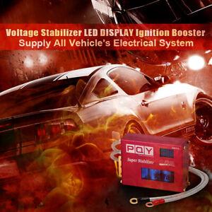 Voltage Stabilizer 12V Racing Engine Power Chip Turbo Voltage Boost Regulator