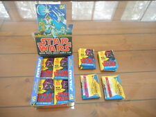 (1) 1977 Topps Star Wars 2nd Series 2 Red Border Unopened Sealed Wax Pack EX