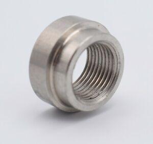O2 Stainless Exhaust Lambda Oxygen Sensor Boss Nut Decat Bung Bolt M18 x 1.5