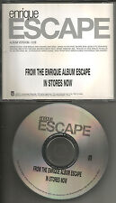 ENRIQUE IGLESIAS Escape 2001 USA PROMO Radio DJ CD single MINT INTR 10685