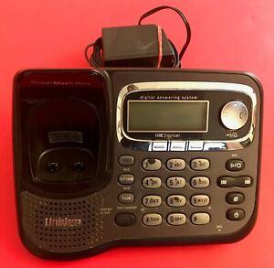 Uniden TRU9485-2S PowerMax 5.8GHz Digital Cordless Phone BASE ANSWERING MACHINE