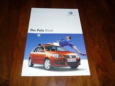 VW Polo GOAL Prospekt 05/2006