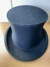 Vintage Tress & Co London Collapsible Top Hat 58cm Signs Of Wear & Tear