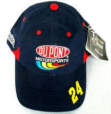 DuPont Hendrick Motor Sports Jeff Gordon 24 Navy Baseball Cap Chase Authentics