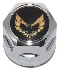 PONTIAC FIREBIRD TRANS-AM Hub Wheel Center Hub Cap Chrome with Gold Bird NEW