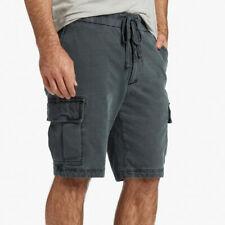 73a2d08e2b NWOT Men's 2 34 36 James Perse Cotton Jersey Cargo Shorts Coal msrp $195.00