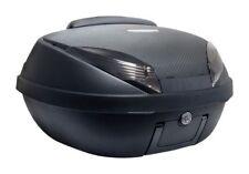 S-Line Top Case 52L Noir Mat Carbone 58x45x32.5cm (2 Casques) Platine Dosseret
