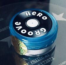 Groove Hero Stylus Cleaner. Blue Tub. Gentle Stylus Cleaning.