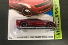2013 Hot Wheels Chevy Camaro Special Edition SUPER TREASURE HUNT 202/250 + case