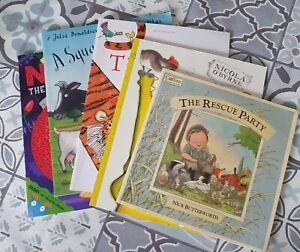 Pre-school Book Bundle , A Squash And A Squeeze , Norman The Slug Who Saved...