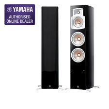 Yamaha NS-555 3-Way Bass-Reflex Floor Standing Speakers - Black