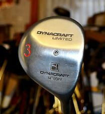 Dynacraft 14 Degree 3 Wood Precision FCM 5.5 Regular Steel Shaft Lamkin Grip