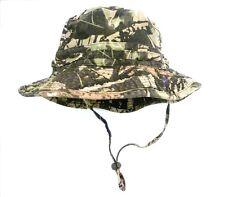 REAL TREE CAMO 100% COTTON BUSH HAT camouflage bucket sun cap XL 61cm