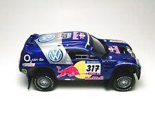 MINICHAMPS 1/43 VOLKSWAGEN VW TOUAREG 4X4  2005 BARCELONE DAKAR Gordon N°317 !!!