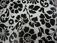 Carta Adesiva lucida bianco e nero e metro 1 larghezza 45 cm. d-c-fix OFFERTA