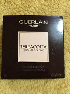 Guerlain Terracotta Summer Glow Golden Glow Powder Face Highlighter New RRP £37