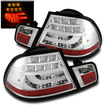 BMW 2004-06 E46 3 SERIES M3 2D COUPE LED STRIP TAIL BRAKE LIGHT REAR LAMP CHROME
