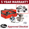 Gates Timing Cam Belt Water Pump Kit For VW LT Transporter Caravelle KP15323XS