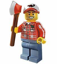 Lego Minifigures Serie 5 Minifigura Lumberjack 8805 - Nuevo, 100% Original