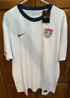 Nike United States USMNT USA US Soccer Men XL Jersey 2010 World Cup White