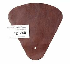Ponte Sable Scrap Leather Craft Piece aprox. .25 sqft Td240