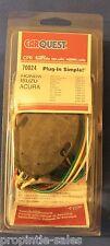 Trailer Wiring Connector Kit ~ Fits: HONDA / ISUZU / ACURA ~ # 70024